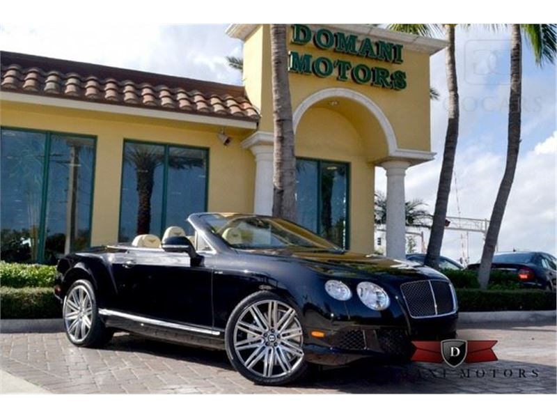 2014 Bentley Continental GTC Speed for sale in Deerfield Beach, Florida 33441