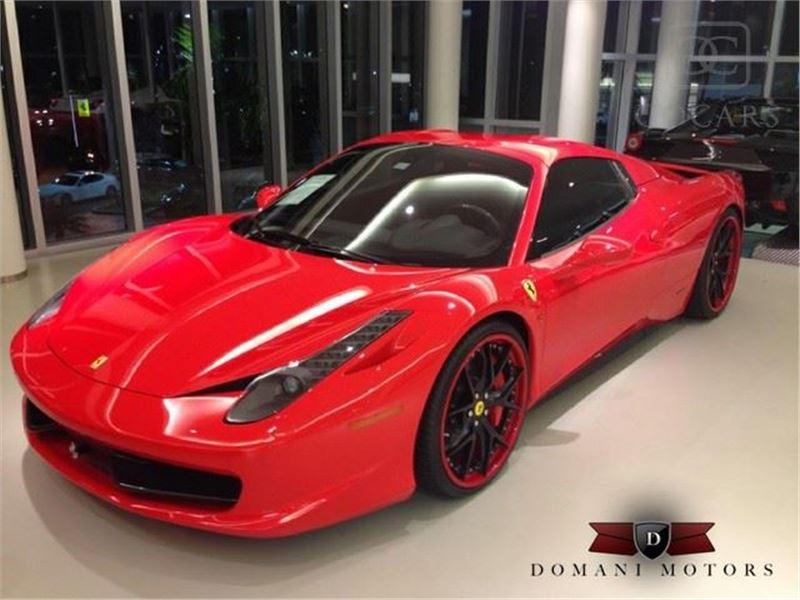 2014 Ferrari 458 for sale in Deerfield Beach, Florida 33441