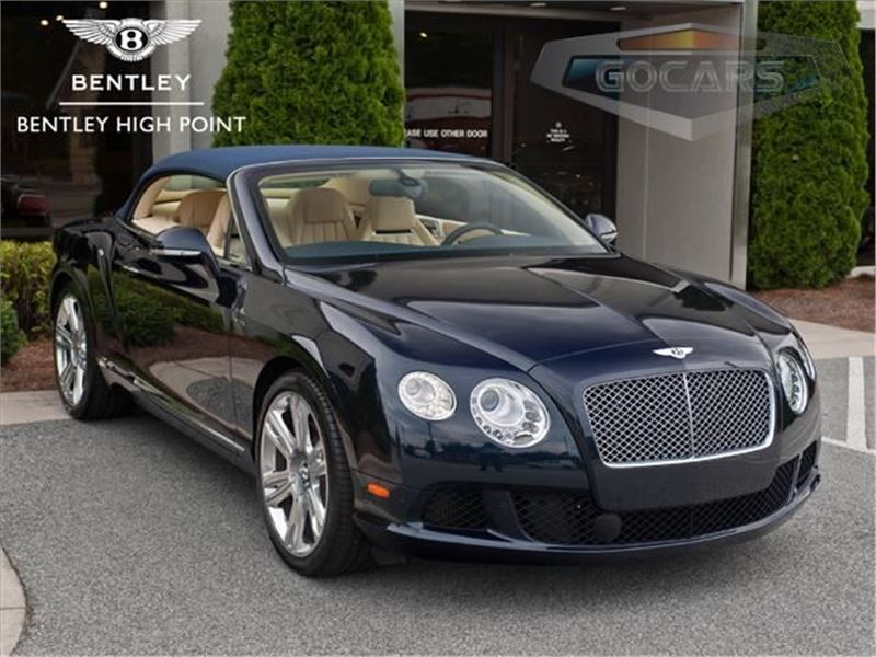 2014 Bentley Continental GTC for sale in High Point, North Carolina 27262