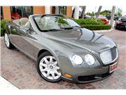 2008 Bentley Continental GTC for sale in Deerfield Beach, Florida 33441
