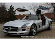2012 Mercedes-Benz SLS AMG for sale in Burr Ridge, Illinois 60527